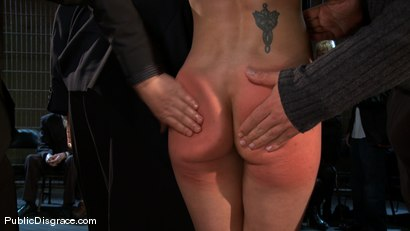 Photo number 5 from Amber Rayne - The Biggest Whore on Earth? shot for Public Disgrace on Kink.com. Featuring John Strong and Amber Rayne in hardcore BDSM & Fetish porn.