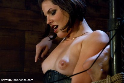"""Photo number 11 from Fresh Meat: Episode 2 """"Thank You Mistress Bobbi"""" shot for Divine Bitches on Kink.com. Featuring Mickey Mod and Bobbi Starr in hardcore BDSM & Fetish porn."""