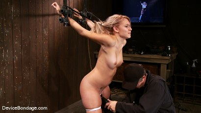 Photo number 13 from Katie Summers <br> Cute little girl next door shot for Device Bondage on Kink.com. Featuring Katie Summers in hardcore BDSM & Fetish porn.