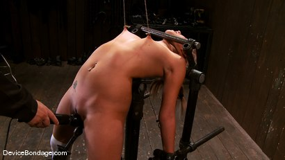 Photo number 13 from Katie Summers<br> Pigtails and nipple torture. Sweet shot for Device Bondage on Kink.com. Featuring Katie Summers in hardcore BDSM & Fetish porn.