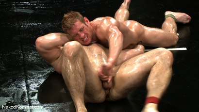 Photo number 7 from Dean Tucker vs Paul Wagner<br />The Oil Match shot for Naked Kombat on Kink.com. Featuring Dean Tucker and Paul Wagner in hardcore BDSM & Fetish porn.