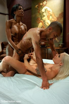 Photo number 12 from Natassia Dream, Lorelei Lee <br> Stalking the Stalker shot for TS Seduction on Kink.com. Featuring Natassia Dreams, Lorelei Lee and Mickey Mod in hardcore BDSM & Fetish porn.