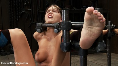 Photo number 4 from Alicia Stone<br> Brutally bound, foot caned and made to cum over and over! shot for Device Bondage on Kink.com. Featuring Alicia Stone in hardcore BDSM & Fetish porn.