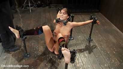 Photo number 7 from Alicia Stone<br> Brutally bound, foot caned and made to cum over and over! shot for Device Bondage on Kink.com. Featuring Alicia Stone in hardcore BDSM & Fetish porn.