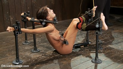 Photo number 10 from Alicia Stone<br> Brutally bound, foot caned and made to cum over and over! shot for Device Bondage on Kink.com. Featuring Alicia Stone in hardcore BDSM & Fetish porn.