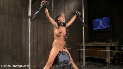 Photo number 7 from Alicia Stone   She never stops coming, so we just let her.. shot for Device Bondage on Kink.com. Featuring Alicia Stone in hardcore BDSM & Fetish porn.