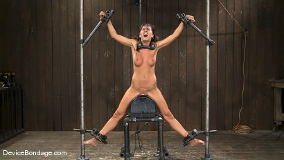 Photo number 9 from Alicia Stone   She never stops coming, so we just let her.. shot for Device Bondage on Kink.com. Featuring Alicia Stone in hardcore BDSM & Fetish porn.