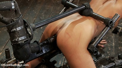Photo number 12 from Alicia Stone<br>Girl next door, double fucked! shot for Device Bondage on Kink.com. Featuring Alicia Stone in hardcore BDSM & Fetish porn.