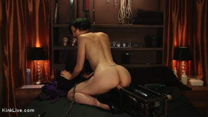 Photo number 7 from Dylan: Live and Uncensored shot for Kink Live on Kink.com. Featuring Dylan Ryan in hardcore BDSM & Fetish porn.