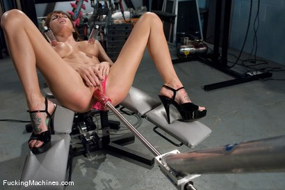 Photo number 7 from From The FM Archive  - GIA DiMARCO'S FIRST EVER PORN! shot for Fucking Machines on Kink.com. Featuring Gia DiMarco in hardcore BDSM & Fetish porn.