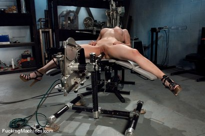 Photo number 10 from AMATEUR GIRL FRIDAY <BR> Zoe shot for Fucking Machines on Kink.com. Featuring Zoe in hardcore BDSM & Fetish porn.