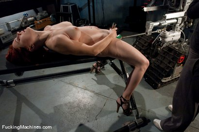 Photo number 4 from AMATEUR GIRL FRIDAY <BR> Zoe shot for Fucking Machines on Kink.com. Featuring Zoe in hardcore BDSM & Fetish porn.
