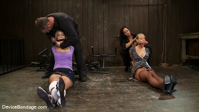 Photo number 1 from Tara Lynn Fox, Mellanie Monroe, and Isis Love<br> Part 1 of 4 of the December Live show shot for Device Bondage on Kink.com. Featuring Isis Love, Mellanie Monroe and Tara Lynn Foxx in hardcore BDSM & Fetish porn.