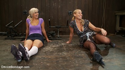 Photo number 2 from Tara Lynn Fox, Mellanie Monroe, and Isis Love<br> Part 1 of 4 of the December Live show shot for Device Bondage on Kink.com. Featuring Isis Love, Mellanie Monroe and Tara Lynn Foxx in hardcore BDSM & Fetish porn.