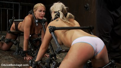 Photo number 8 from Tara Lynn Fox, Mellanie Monroe, and Isis Love<br> Part 1 of 4 of the December Live show shot for Device Bondage on Kink.com. Featuring Isis Love, Mellanie Monroe and Tara Lynn Foxx in hardcore BDSM & Fetish porn.