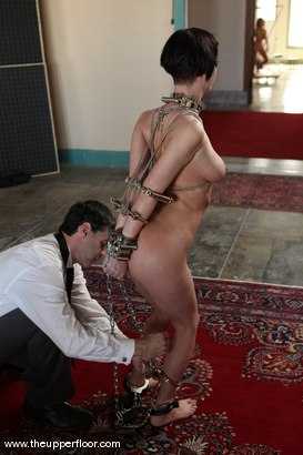 Photo number 3 from Service Sessions: Testing Restraints shot for The Upper Floor on Kink.com. Featuring Cherry Torn in hardcore BDSM & Fetish porn.
