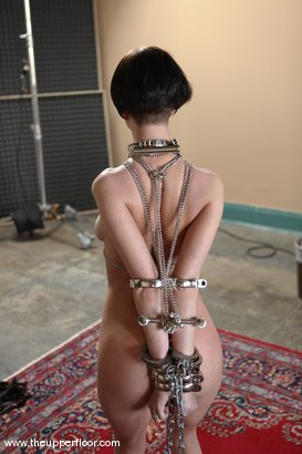 Photo number 4 from Service Sessions: Testing Restraints shot for The Upper Floor on Kink.com. Featuring Cherry Torn in hardcore BDSM & Fetish porn.
