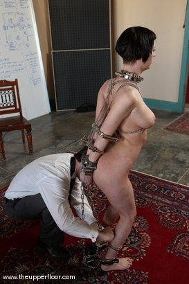 Photo number 10 from Service Sessions: Testing Restraints shot for The Upper Floor on Kink.com. Featuring Cherry Torn in hardcore BDSM & Fetish porn.