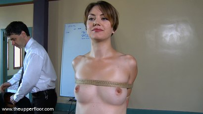 Photo number 2 from Shevon's Arrival shot for The Upper Floor on Kink.com. Featuring Sarah Shevon and Skylar Price in hardcore BDSM & Fetish porn.