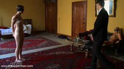 Photo number 14 from Shevon's Arrival shot for The Upper Floor on Kink.com. Featuring Sarah Shevon and Skylar Price in hardcore BDSM & Fetish porn.