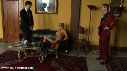 Photo number 13 from Shevon's Arrival shot for The Upper Floor on Kink.com. Featuring Sarah Shevon and Skylar Price in hardcore BDSM & Fetish porn.
