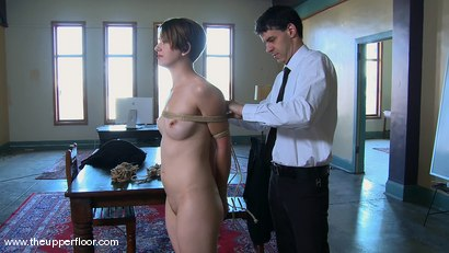Photo number 5 from Shevon's Arrival shot for The Upper Floor on Kink.com. Featuring Sarah Shevon and Skylar Price in hardcore BDSM & Fetish porn.