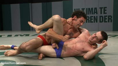 Photo number 2 from DJ vs Kurt Wild shot for Naked Kombat on Kink.com. Featuring DJ and Kurt Wild in hardcore BDSM & Fetish porn.