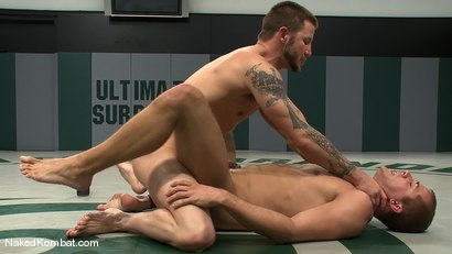 Photo number 13 from Brenn Wyson vs Brandon Lewis shot for Naked Kombat on Kink.com. Featuring Brandon Lewis and Brenn Wyson in hardcore BDSM & Fetish porn.