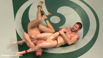Photo number 2 from Brenn Wyson vs Brandon Lewis shot for Naked Kombat on Kink.com. Featuring Brandon Lewis  and Brenn Wyson in hardcore BDSM & Fetish porn.