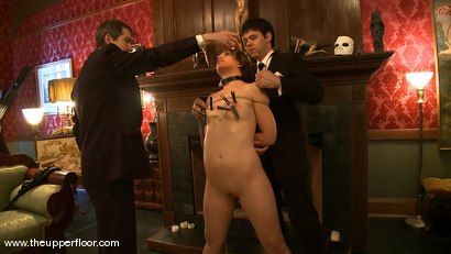 Photo number 3 from Slave Time Clock shot for The Upper Floor on Kink.com. Featuring Sarah Shevon in hardcore BDSM & Fetish porn.