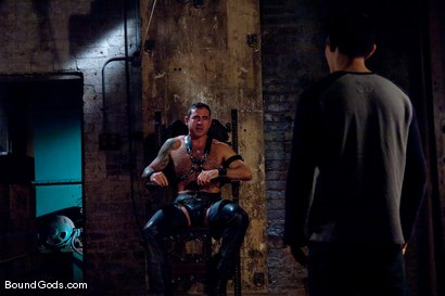 Photo number 1 from The Offering shot for Bound Gods on Kink.com. Featuring Nick Moretti and Dylan Deap in hardcore BDSM & Fetish porn.