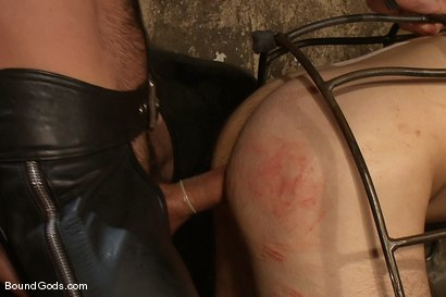 Photo number 12 from The Offering shot for Bound Gods on Kink.com. Featuring Nick Moretti and Dylan Deap in hardcore BDSM & Fetish porn.