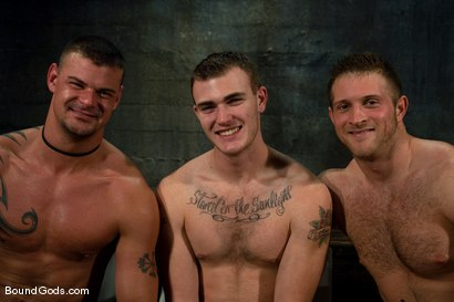 Photo number 15 from Meat Processing shot for Bound Gods on Kink.com. Featuring Christian Wilde, Van Darkholme, Paul Wagner and Derrick Hanson in hardcore BDSM & Fetish porn.