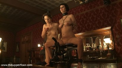 Photo number 7 from Service Sessions: Torn's Return to Service shot for The Upper Floor on Kink.com. Featuring Cherry Torn and Sarah Shevon in hardcore BDSM & Fetish porn.