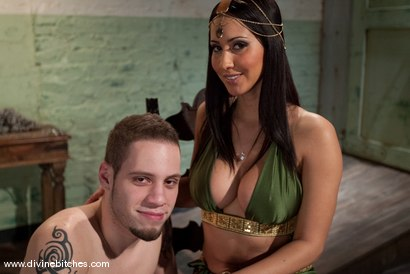 "Photo number 1 from The Adjustment of Wolf Hudson: Episode 3 ""Aquaphobia"" shot for Divine Bitches on Kink.com. Featuring Wolf Hudson and Isis Love in hardcore BDSM & Fetish porn."
