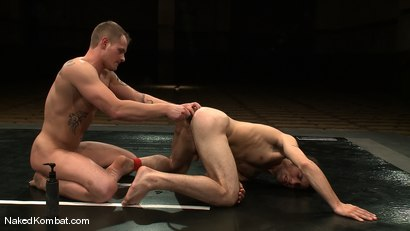 Photo number 11 from Trent Diesel vs DJ shot for Naked Kombat on Kink.com. Featuring Trent Diesel and DJ in hardcore BDSM & Fetish porn.