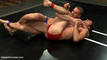 Photo number 1 from Trent Diesel vs DJ shot for Naked Kombat on Kink.com. Featuring Trent Diesel and DJ in hardcore BDSM & Fetish porn.