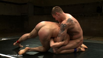 Photo number 6 from Trent Diesel vs DJ shot for Naked Kombat on Kink.com. Featuring Trent Diesel and DJ in hardcore BDSM & Fetish porn.