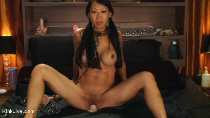 Photo number 14 from Tia is Hot and Horny just for you! shot for Kink Live on Kink.com. Featuring Tia Ling in hardcore BDSM & Fetish porn.