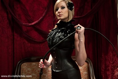 """Photo number 1 from The Making of a Dominant: Episode 2 """"Reality Check"""" shot for Divine Bitches on Kink.com. Featuring Curt Wooster and Maitresse Madeline Marlowe in hardcore BDSM & Fetish porn."""