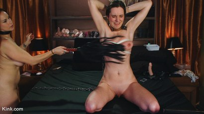 Photo number 8 from Two slave whores shot for Kink Live on Kink.com. Featuring Bella Rossi and Winter Sky in hardcore BDSM & Fetish porn.