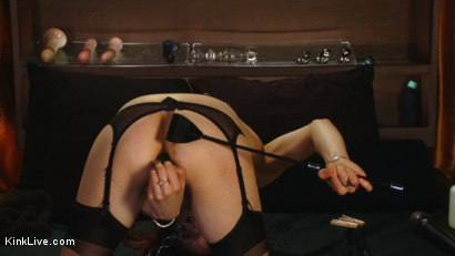 Photo number 11 from Sexy Sasha Lexing is Wet for You! shot for Kink Live on Kink.com. Featuring Sasha Lexing in hardcore BDSM & Fetish porn.