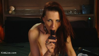 Photo number 13 from Sexy Sasha Lexing is Wet for You! shot for Kink Live on Kink.com. Featuring Sasha Lexing in hardcore BDSM & Fetish porn.