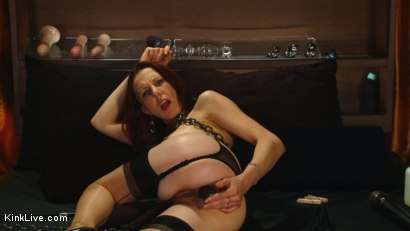 Photo number 5 from Sexy Sasha Lexing is Wet for You! shot for Kink Live on Kink.com. Featuring Sasha Lexing in hardcore BDSM & Fetish porn.