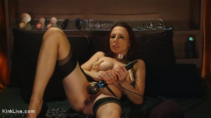 Photo number 6 from Sexy Sasha Lexing is Wet for You! shot for Kink Live on Kink.com. Featuring Sasha Lexing in hardcore BDSM & Fetish porn.