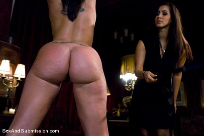 Photo number 4 from Spouse Training shot for Sex And Submission on Kink.com. Featuring Isis Love, Mark Davis and Kelly Divine in hardcore BDSM & Fetish porn.