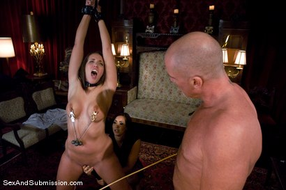Photo number 5 from Spouse Training shot for Sex And Submission on Kink.com. Featuring Isis Love, Mark Davis and Kelly Divine in hardcore BDSM & Fetish porn.