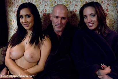 Photo number 15 from Spouse Training shot for Sex And Submission on Kink.com. Featuring Isis Love, Mark Davis and Kelly Divine in hardcore BDSM & Fetish porn.