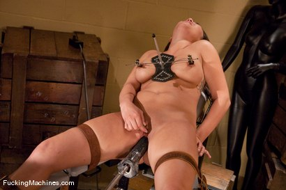 Photo number 12 from London Keys <br> hot girl see, hot girl do shot for Fucking Machines on Kink.com. Featuring London Keyes and Cherry Torn in hardcore BDSM & Fetish porn.