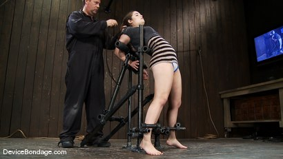 Photo number 1 from Charlotte Vale<br>As honest and real as a girl gets.  shot for Device Bondage on Kink.com. Featuring Charlotte Vale in hardcore BDSM & Fetish porn.